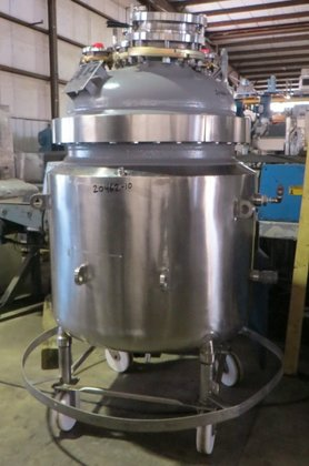2002 DEDIETRICH Glass Lined Reactor