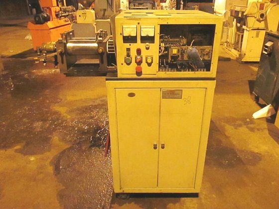 1989 BRABENDER PM TWO-ROLL MILL,