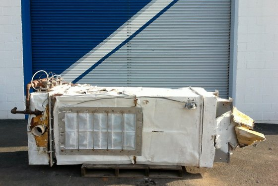 PULSE TYPE DUST COLLECTOR. STAINLESS