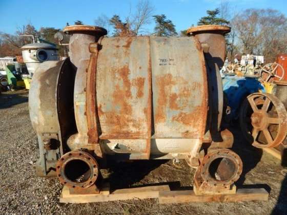 NASH LIQUID RING VACUUM PUMP,