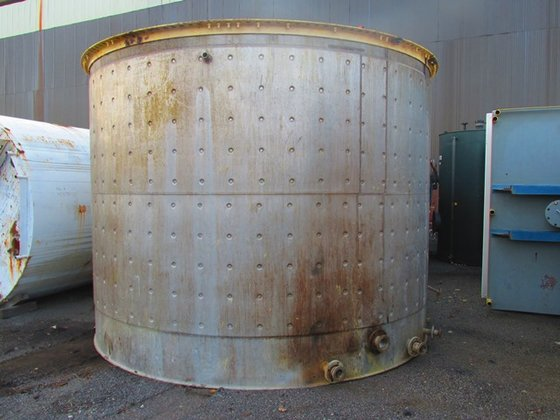 APPROXIMATELY 14,000 GALLON STAINLESS STEEL