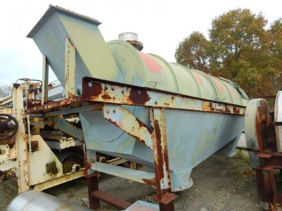 SPROUT WALDRON ROTARY TROMMEL 4′