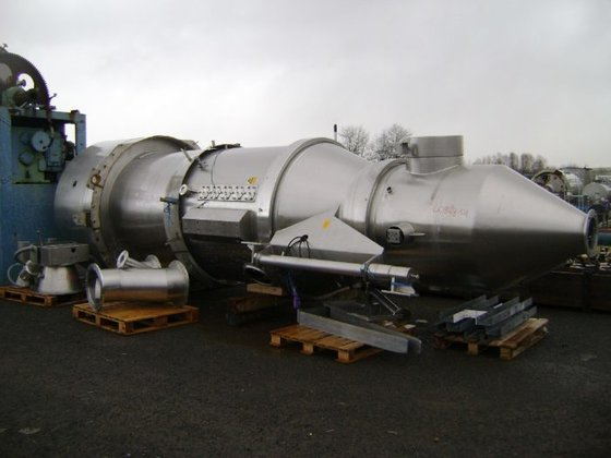 GLATT WST/G 500 Stainless Steel