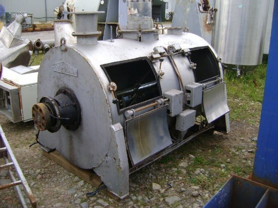 FKM2000 Stainless Steel Ploughshare Mixer