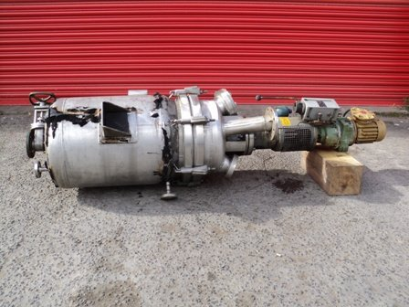 HASTELLOY Vertical Reactor FRIESS APPROXIMATELY