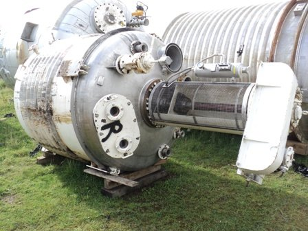 APPROXIMATEY 4,000 LITRE 316TI STAINLESS