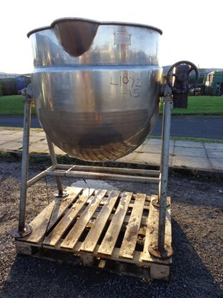 SKERMAN APPROXIMATELY 400 LITRE STAINLESS