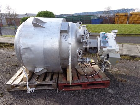 WEBSTERS APPROXIMATELY 1,000 LITRE STAINLESS