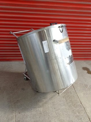 APPROXIMATELY 380 LITRE CAPACITY STAINLESS