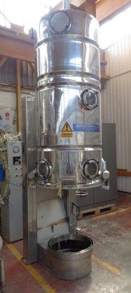 S-4 Stainless Steel Fluid Bed