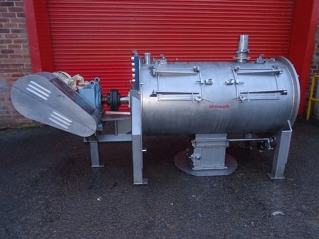 RT650 Stainless Steel Ploughshare Mixer