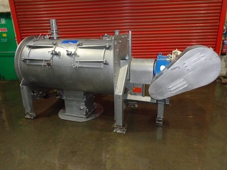 RT650 Stainless Steel Ploughshare Mixer