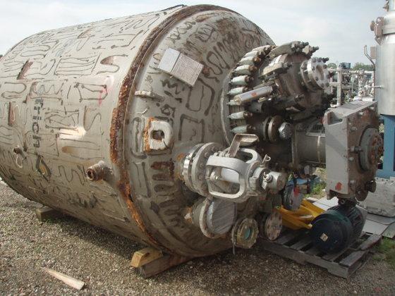 1999 DEDIETRICH Glass Lined Reactor