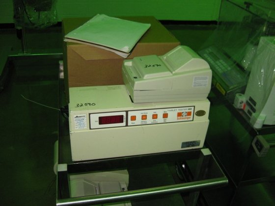 60D SCHEONIG TABLET TESTER WITH
