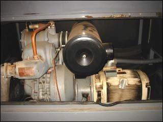 ATLAS COPCO AIR COMPRESSOR ZT245.