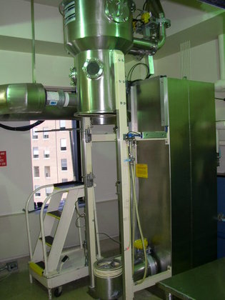 GLATT GPCG-5 Fluid Bed Dryer