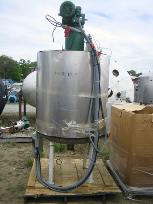 APPROXIMATELY 175 GALLON STAINLESS STEEL