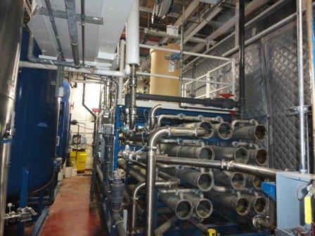 Osmonics 74B-HR288K/DLXDP Reverse Osmosis System
