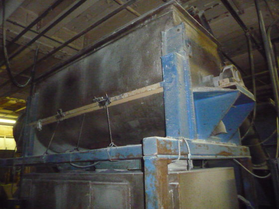 60 CUBIC FOOT STAINLESS STEEL