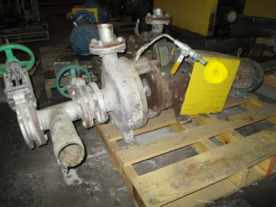 GOULDS STAINLESS STEEL PUMP in