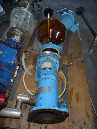turbine agitator with motor and