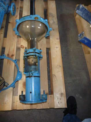 turbine agitator with motor and