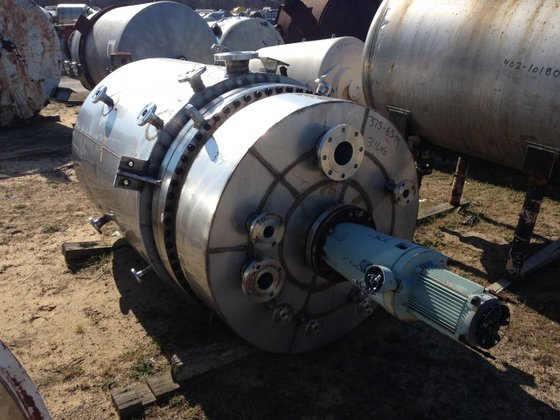 APPROXIMATELY 350 GALLON 316L STAINLESS