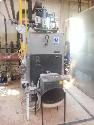 BOILER MADE BY VIESSMANN VITOPLEX,