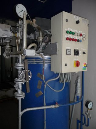 BOILER MADE BY TIPA SPR