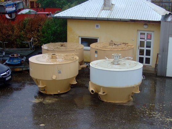 "FCB1250/34 CONTINUOUS CENTRIFUGE FOR ""C"""