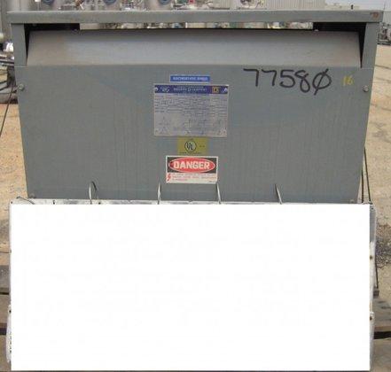 SQUARE-D 63 KVA TRANSFORMER. #34244-44112-002