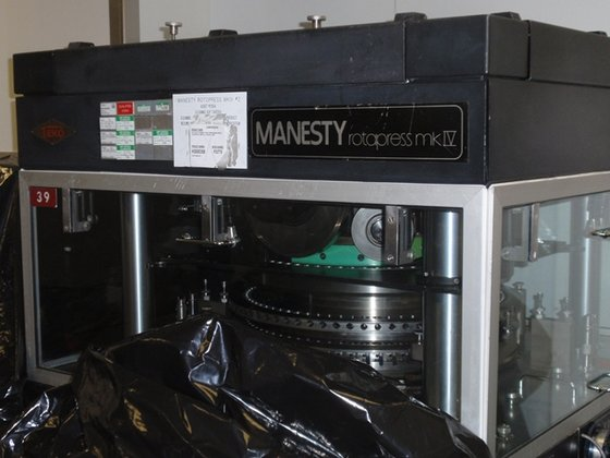 MANESTY ROTA PRESS MKIV 61-STATION