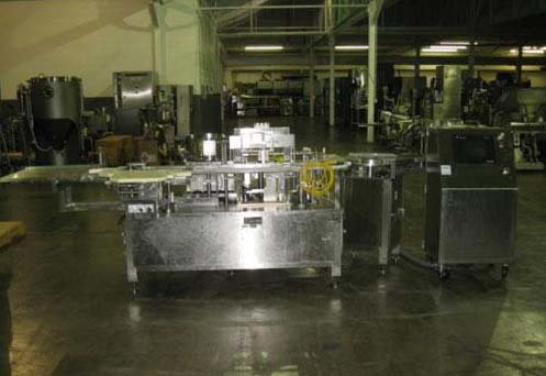 TL SYSTEMS UD-110 VIAL FILLING