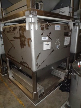 Matcon Stainless Steel IBC APPROXIMATELY