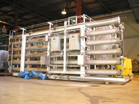 DUAL PASS REVERSE OSMOSIS SYSTEM.