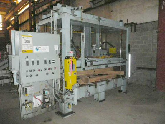 HUDSON 4-POST DIE CUTTING PRESS