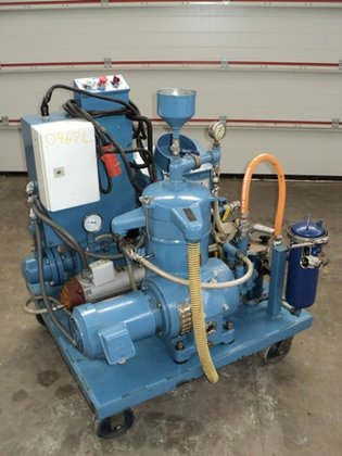 SANBORN PURITAN COOLANT/OIL RECOVERY SKID
