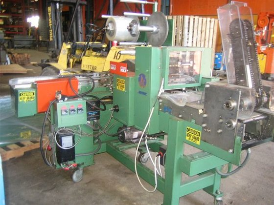 SCANDIA 607RE 120 PACKAGES/MIN OVERWRAPPER,