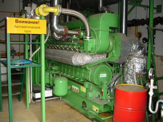 LITTLE NATURAL GAS COGENERATION PLANT