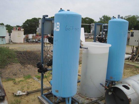 U.S. Filter WATER SOFTENER SYSTEM.