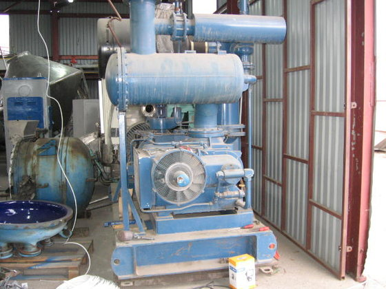 rotary screw compressor by AERZEN