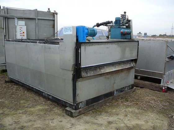 Saltec (Sweden) dewatering system including