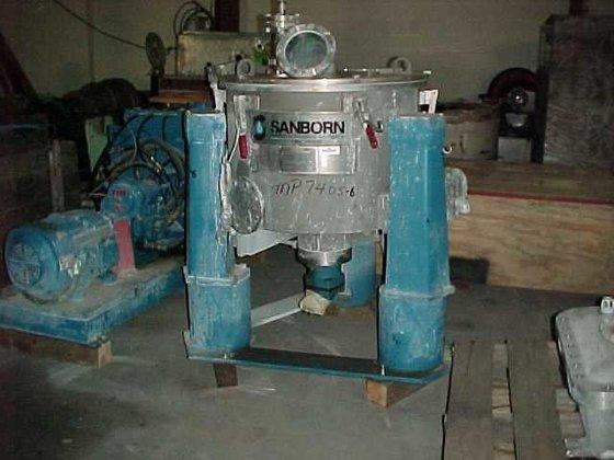 SANBORN Stainless Steel Basket Centrifuge