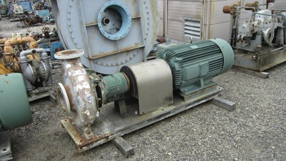 DURCO CENTRIFUGAL PUMP. SIZE 8″