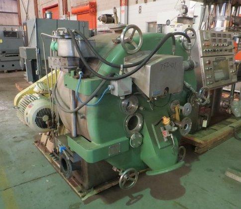 410 Pusher Centrifuge LUWA-HEINE HASTELLOY