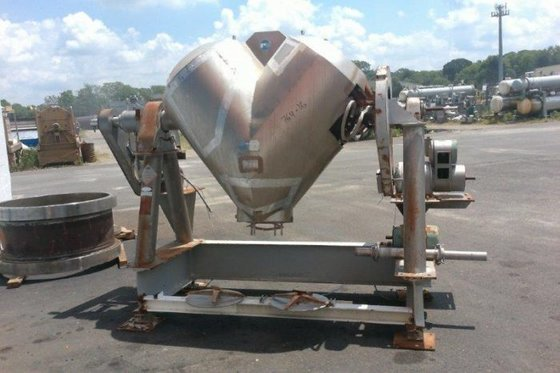PATTERSON-KELLEY Stainless Steel Twin Shell
