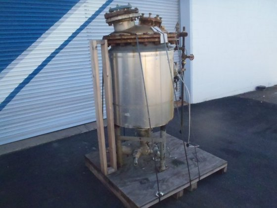 APPROXIMATELY 60 GALLON JACKETED STAINLESS
