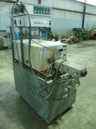 BRABENDER PL2000 W/EXTRUDER PLASTICORDER. INCLUDES