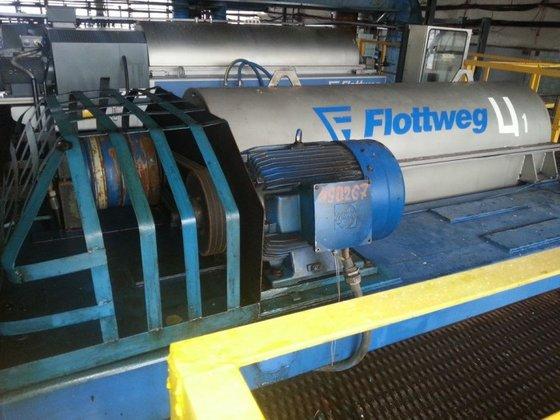 FLOTTWEG Z53-4/454 Horizontal Stainless Steel