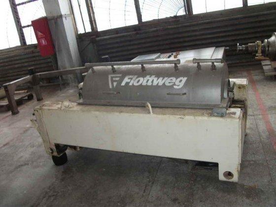 FLOTTWEG Z4D-3/409 Horizontal Stainless Steel
